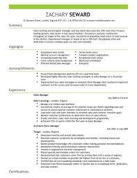 Seniorsalesmanagerresume Example Sales Manager Resume Samples Cv Full