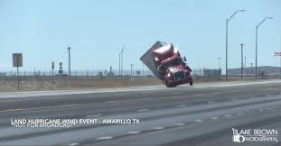 100 Game Truck Amarillo Intense Winds Knock Over An 18Wheeler In Texas PEOPLEcom