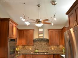 flush mount ceiling fans with light kitchen with midcentury