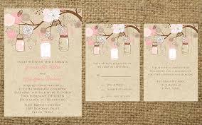 Pink Rustic Wedding Invitations Vintage Ipunya