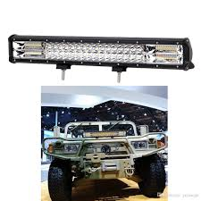 20inch 288w 3 Row LED Light Bar Offroad Combo Beam 4000K/6000K ... Poppap 300w Light Bar For Cars Trucks Boat Jeep Off Road Lights Automotive Lighting Headlights Tail Leds Bulbs Caridcom Lll203flush 3 Inch Flush Mount 20 Watt Lifetime 4pcs Led Pods Flood 5 24w 2400lm Fog Work 4x 27w Cree For Truck Offroad Tractor Wiring In Dodge Diesel Resource Forums Best Wrangler All Your Outdoor 145 55w 5400 Lumens Super Bright Nilight 2pcs 18w Led Yitamotor 42 400w Curved Spot Combo Offroad Ford Ranger