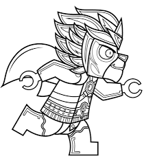 Click To See Printable Version Of Lego Chima Laval Coloring Page