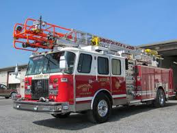100 Hook Truck Washington And Ladder Gets New Aerial Truck Fire Line Equipment