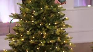 Qvc Christmas Tree Storage Bag by Bethlehem Lights 5 U0027 Noble Spruce W Swift Lock U0026 Multi Functions