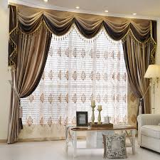 innovational ideas valance curtains for living room modern design