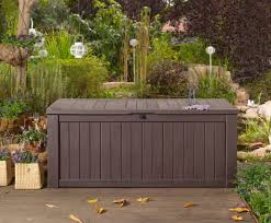 Suncast 50 Gallon Deck Boxstorage Bench by Garden Storage Bench Box Home Outdoor Decoration