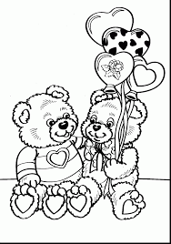 Extraordinary Coloring Pages Valentines Day