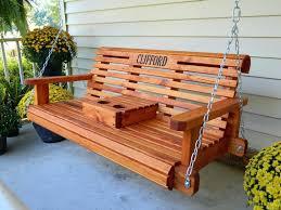 Wood Porch Swing Wooden Melbourne Swings Menards – spotthevuln