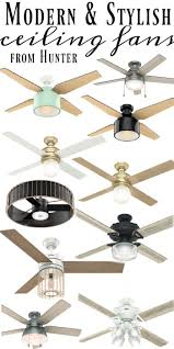 Hunter Ceiling Fan Blades White by Seriously Stylish Ceiling Fans Liz Marie Blog