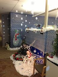 Cubicle Decoration Ideas For Christmas by Christmas Decorating Ideas For Office Contest Rainforest Islands