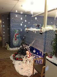 Unique Christmas Office Door Decorating Idea by Cool Christmas Door Decorating Ideas Office Door Christmas