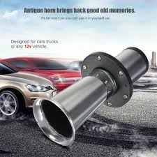 Aliexpress.com : Buy Useful Chrome 12V 110dB Antique Vintage Vehicle ... 12v 125db Car Motorcycle Truck Horn Compact Electric Pump Air Loud Trux Accsories 3bell Train Model Thorn1 Auto Speaker Alarm 150db Tone Vehicle Boat Motor Lumiparty 178db Super Dual Trumpet Compressor Horns Sound Effect Youtube Flexzon 12v24v 139db Van Bus Vintage Jubilee Bull 90 Rat Rod Hot 12vt Fog Horn Makes 8milelake 150db Single For Wolo Electric Horns For Cars Trucks Boats Rvs And Motorcycles The Best 2018 Loudest Electrical