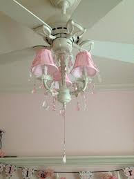 Shabby Chic White Ceiling Fans by Ceiling Fan Drum Shade Over Light Pertaining To Popular
