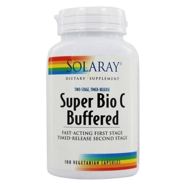 Solaray Super Bio C Buffered Dietary Supplement