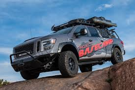 100 Tricked Out Trucks Nissan Titan Project Basecamp Pictures Accessories Features