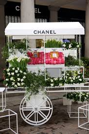 Chanel Covent Garden Nail Bar Makeovers Flower Stall Vogue UK