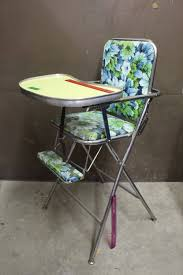 100 High Chair Pattern Vintage Folding Doll WFloral