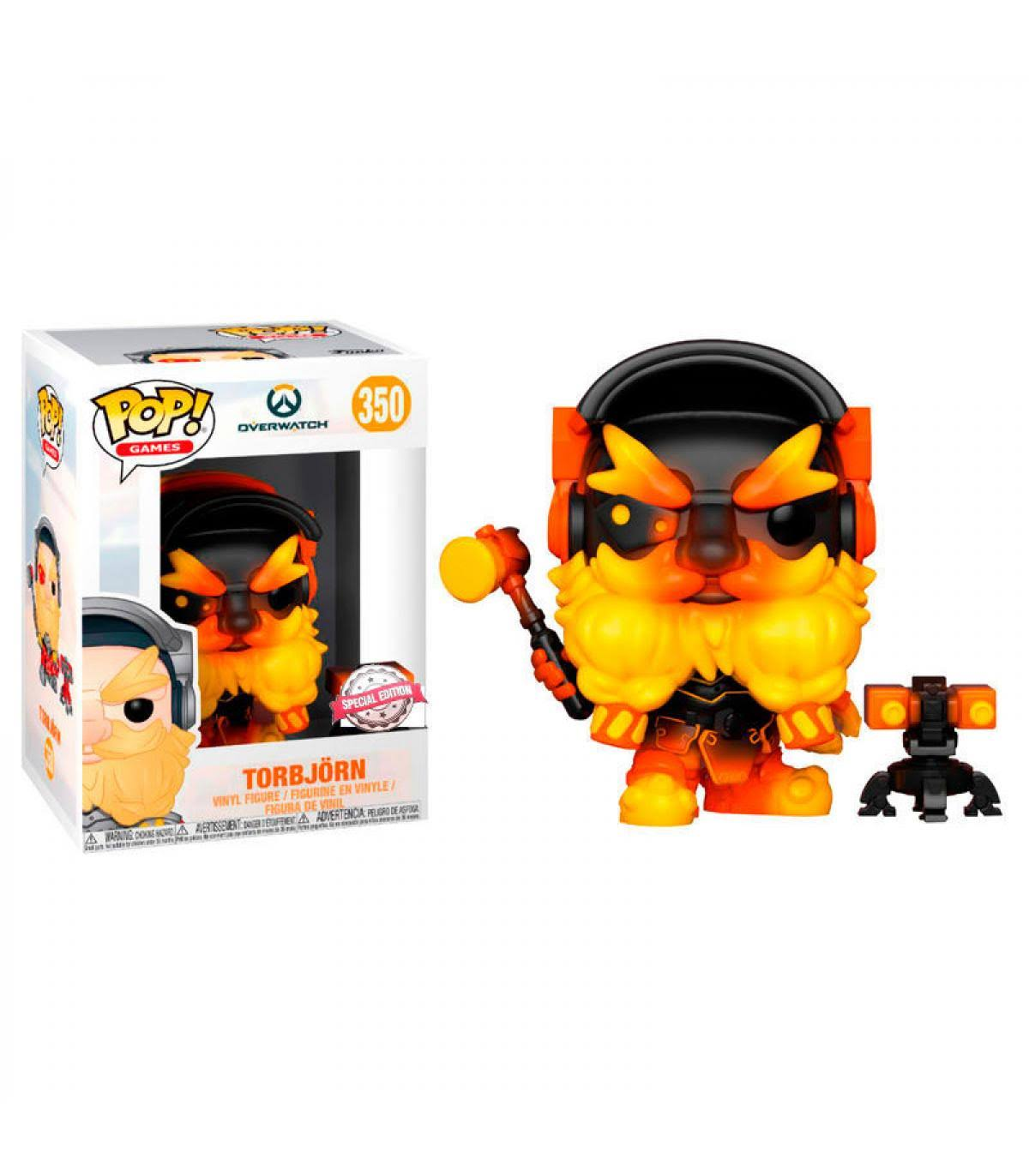 Funko Pop! Torbjorn Molten Core - Overwatch (Exclusive)