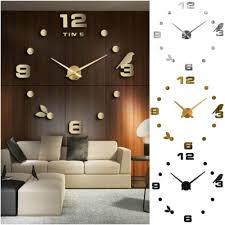 dekoration designer wanduhr wohnzimmer wandtattoo design