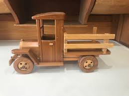 100 Wooden Truck Antique Wood Milk Old Push Toys Handmade Etsy