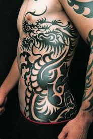 Tribal Dragon Tattoos For Men