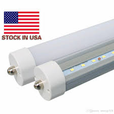 stock in usa led 8 foot fa8 45w t8 light power bright