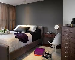 chambre gris murs et ameublement chambre tout en gris tendance