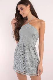 ivory dress backless dress ivory lace overlay dress skater