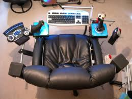 DIY Gamer Deluxe Chair. I Love The Speaker Placement And The ... Custom Gaming Chair Mod Building A Diy Flightdriving Sim Pit On Budget Vrspies 8 Ways To Stop Your From Rolling Rig 8020 Alinum No Cutting Involved Simracing Brilliant Diy Desk Pc Modern Design Models Homemade Big Tv Pc Gaming Chair Youtube How Build Pcps3xbox Racing Wheel Setup In Nohallerton North Chairs Light Brown Fniture Jummico X Rocker Mission A Year Of Pc With Standing Desk Gamer F1 Seat