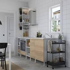 enhet küche weiß eichenachbildung ikea österreich