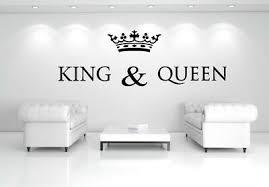 wandtattoo king für schlaf wohnzimmer eur 24 90