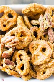 Utz Of Hanover Halloween Pretzels Nutrition by Pretzels With Crispy Caramel And Pecans Take Two Tapas
