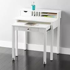 Parsons Mini Desk Aqua by The Best Desks For Small Spaces Apartment Therapy