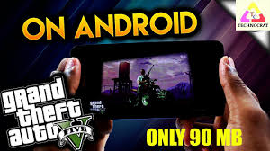 GTA 5 Android Mobile ly 90 MB