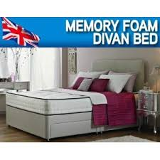 Amazon Super King Size Headboard by 6 U00270 Super King Size Orthopaedic Divan Bed With Mattress And