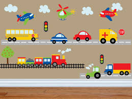 Car Decal - Construction Wall Decal -Bus Decal- Transportation Decal ... Trendy Inspiration Ideas Monster Truck Wall Decals Home Design Ideas Monster Trucks Wall Stickers Vinyl Decal Hot Dog Food Truck Fast Cooking Best 20 Collecton Tractor Decals Farmall American Driver Trucking Company Service Ems Emergency Vehicles Fire Police Cars New Chevy Dump For Sale Together With As Train Car Airplane Cstruction And City Designs Whole Room In Cjunction Plane And Firetruck Printed