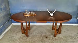 Broyhill Brasilia 9 Drawer Dresser by Vintage Ground Mid Century Broyhill Brasilia Round Dining Table W