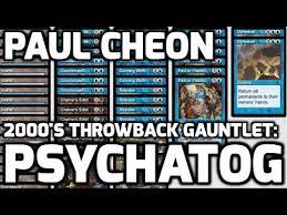 channel cheon 2000s throwback gauntlet psychatog deck tech