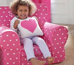 Pottery Barn My First Anywhere Chair Insert by Bright Pink Heart Anywhere Chair Pottery Barn Kids