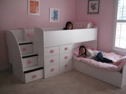 Canwood Whistler Junior Loft Bed White by Interior Design Bedroom Cool Kids Space Saving Ideas Loft Bed And
