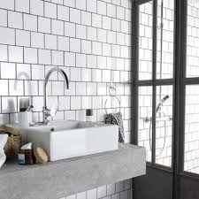 carrelage ceramique leroy merlin faïence mur blanc blanc n 0 brillant astuce l 10 x l 10 cm