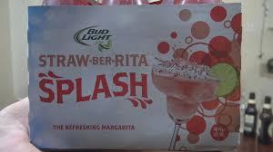 Bud Light Straw Ber Rita Splash Chug Challenge Vomit Alert
