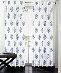 Tommy Hilfiger Curtains Mission Paisley by Nicole Miller Set Of 2 Window Panels Damask Medallion Curtains