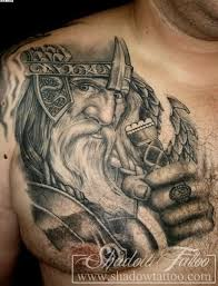 Viking Warriors Tattoos On Biceps In 2017 Real Photo Pictures