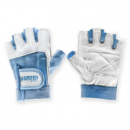 Grizzly Fitness Women's Paw Training Gloves - Blue, Small