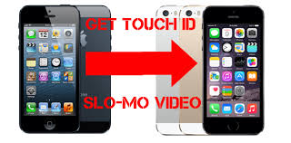 Turn IPhone 5 into 5s or how to make Touch ID Slomo 120 fps video