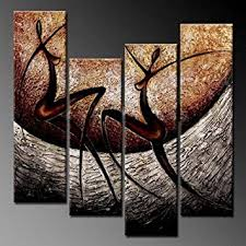 amazon com phoenix decor pc018 elegant modern canvas art for wall