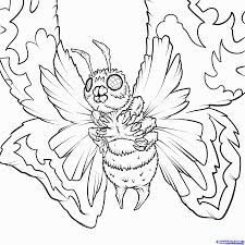 8 Pics Of Space Godzilla Coloring Pages