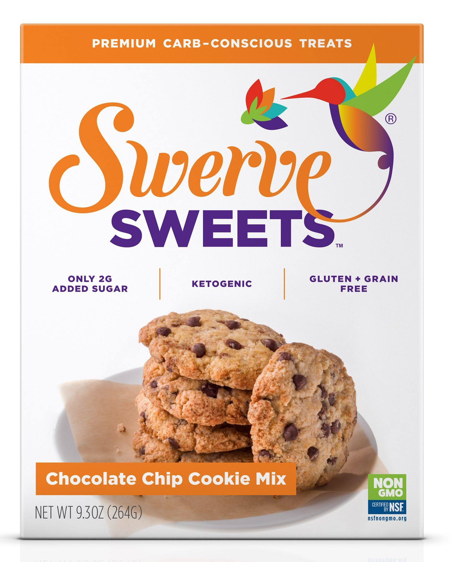 Swerve Sweets Chocolate Chip Cookie Mix - 9.3oz