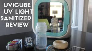 Uv Sterilizer Cabinet Singapore by Uvicube Uv Light Sanitizer Review Youtube